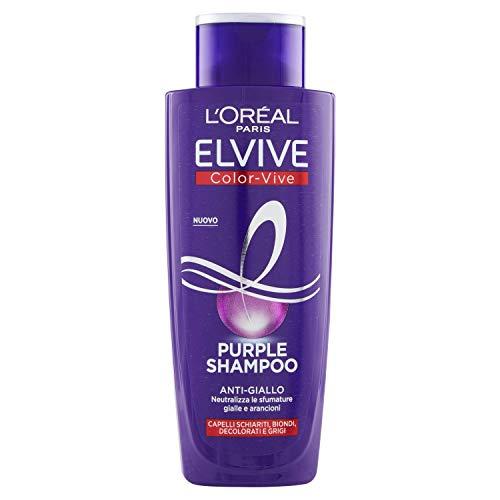 L Oréal Paris Shampoo Antigiallo Color Vive Purple, 200ml