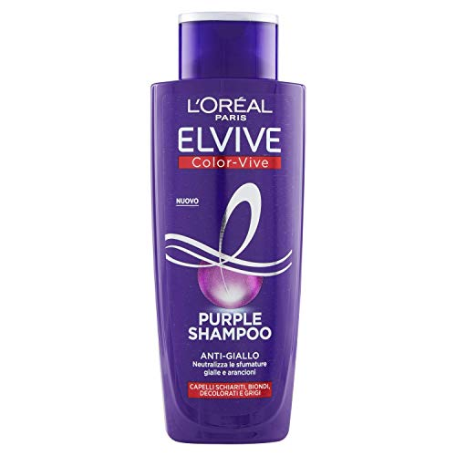 L'Oréal Paris Shampoo Antigiallo Color Vive...