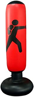 Saco de pancadas inflável BESPORTBLE, para treinamento de boxe, chute, bate e volta, para prática de karatê, taekwondo, sa...