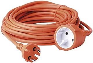 Koumeican el cable de extensi/ón m/ás delgado potencia en el mundo 0.0354 pulgadas c/ódigo plano 19.7 pulgadas blanco