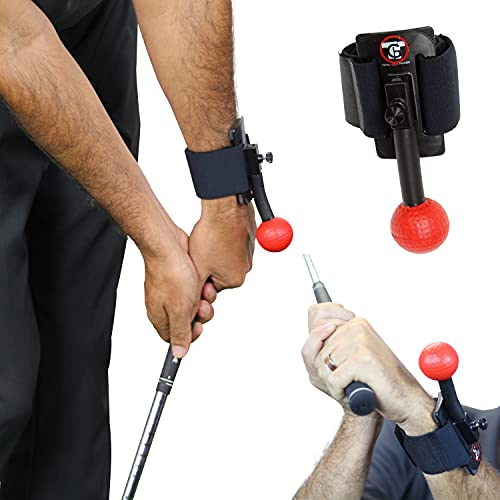 TOTAL GOLF TRAINER Arm - TGT Arm - Golf Training Aid – Train The Ideal Wrist, Elbow and Arm Position Throughout The Golf Swing