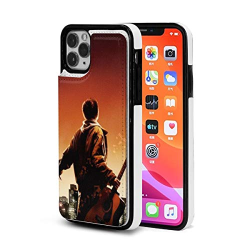 City Guitar Wallpaper iPhone 11 Wallet Case with Card Holder,Pu Leather Kickstand Slots,Double Magnetic Clasp and Shockproof Cover for iPhone 11 Series