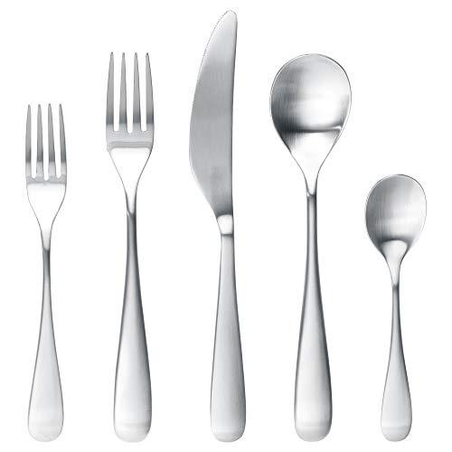 IKEA Behagfull 20-Piece Flatware Set, Stainless Steel