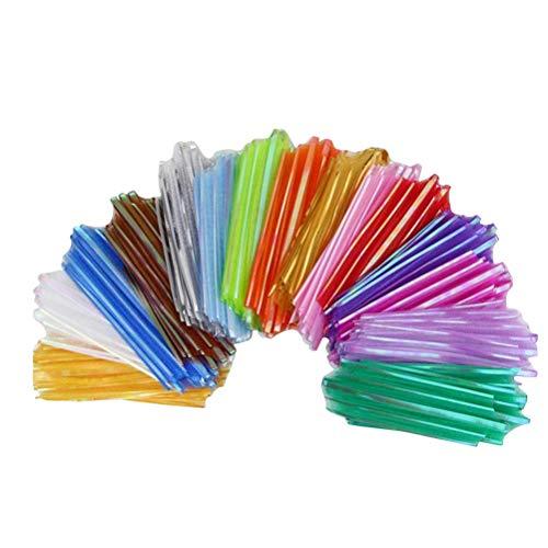 STOBOK Lazos de hilo para decoración de fiestas, 9 unidades (color al azar)