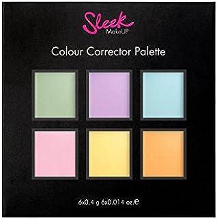 Sleek Make Up Color Corrector Palette for Scars, Blemishes, Redness, Hyper-pigmentation, Dark Circles