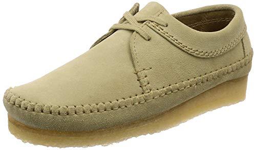 Clarks Originals Herren Maple Weaver Wildleder Schuhe-UK 10