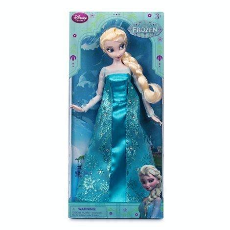 Elsa Classic Doll - Frozen - 12\'\'