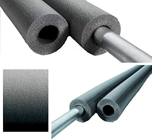 nmc PE-Isolierung Rohrisolierung - Länge 2 m, für Rohr, Kupferrohr 15 mm - Dämmschichtdicke 6 mm