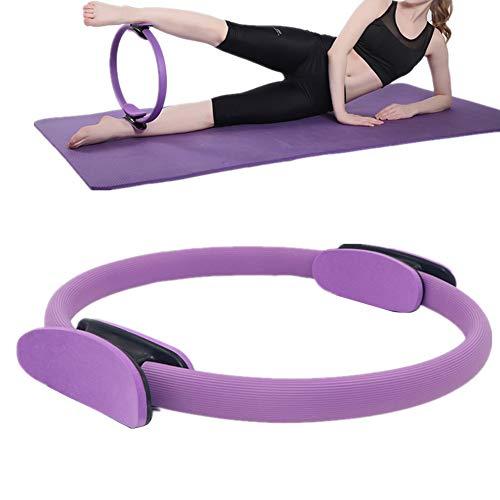 zhppac Aro Pilates AroPilatesFitness Entrenamiento Anillos Pilates Ejercicio Anillo Pilates Ejercicio Anillos Pilates Anillos Pilates elástico Anillos Purple,-