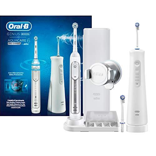 Oral-B Genius 8000 Oral Center Zahnbürste und Munddusche Aquacare 6