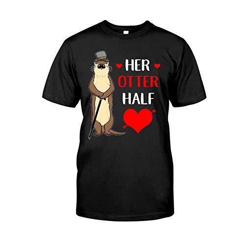 Situen Her Otter Half - Valentine Couple 2 T-Shirt