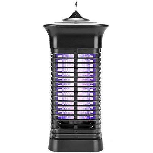 Loytio Excavador eléctrico para insectos de mosca, trampa para mosquitos, repelente de insectos para interior y exterior