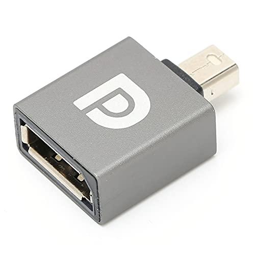 Adaptador de Extensión DP Mini Macho a DP Hembra 8K 60Hz 7680x4320 con Monitor de Juegos de TV para Computadora Portátil