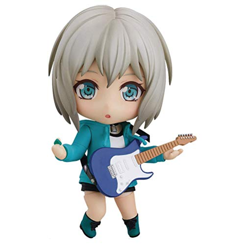 YLJXXY Bang Dream! Girls Band Party: Moca Aoba (Stage Outfit Version) Nendoroid Action Figure, Multicolor
