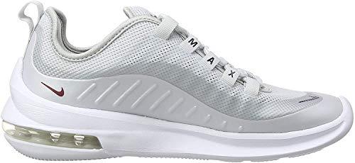 Nike Damen Air Max Axis Laufschuhe, Mehrfarbig (Pure Platinum/Red Crush/Blackened Blue 003), 38 EU