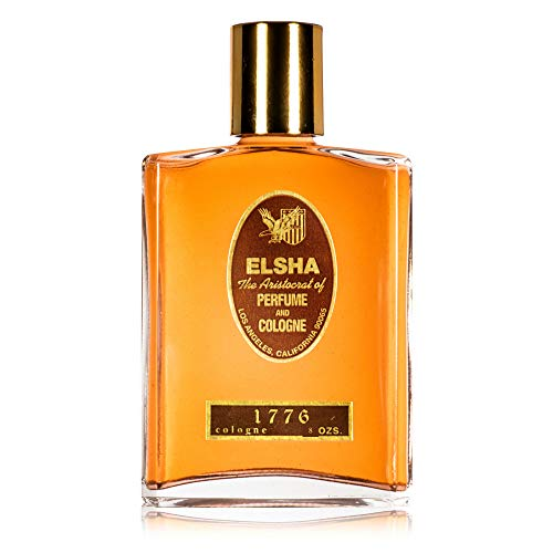 ELSHA Cologne 1776 - Original Manufacturer - 8oz Bottle Aristocrat Cologne and Perfume - Long Lasting Scented Cologne Manufactured in The USA – Large 8 Ounce Bottle
