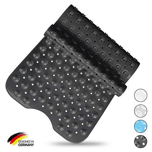 test SilverRack Derma Sensitive Badematte 100% BPA-frei (schwarz) – Rutschfeste Badematte… Deutschland