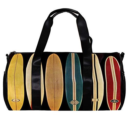 Borsone da palestra rotondo con tracolla staccabile per allenamento in barca a vela borsa per donne e uomini