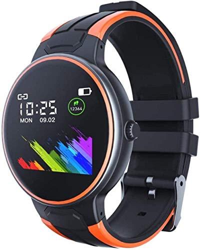 Reloj inteligente Z8S con termómetro de frecuencia cardíaca Seguimiento de salud impermeable hombre y mujer relojes deportivos para Android4.4 y superior Ios8.5 o superior Exquisite-A-D