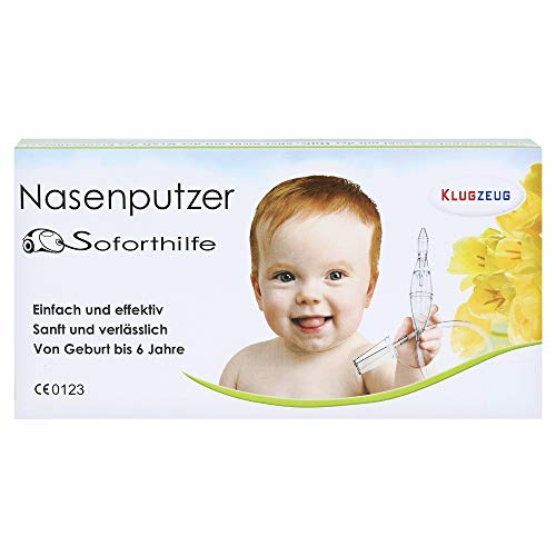 Klugzeug Nasenputzer Soforthilfe Nasensauger, 1 St.