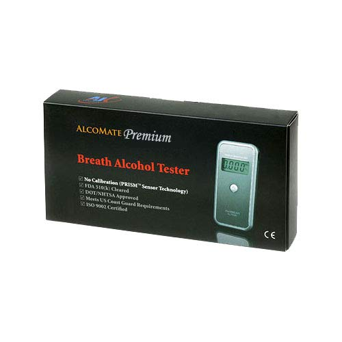 AlcoMate AL7000 prima de alcoholemia Profesional Con Prisma Tecnología