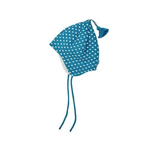 Finkid Tipsa Blau, Kinder Kopfbedeckung, Größe 48 - Farbe Seaport - Offwhite