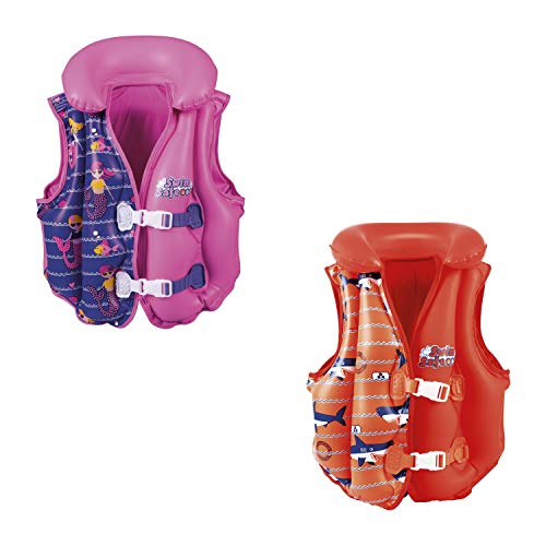 Bestway Swim Safe 32156 Chaleco Inflable Deluxe con Forro, U