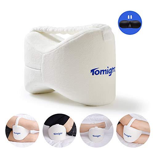 tomight Beinkissen für Seitenschläfer,Leg Pillow Memory Foam mit Gummiband,...