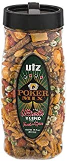 Utz Poker Mix Barrel (12) 23 Ounce (1 Count)