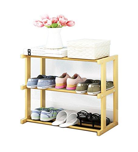 LYQQQQ Zapatero Organizador de Madera con Organizador para Zapatos, Ideal para pasillos, baños, Salas de Estar, dormitorios y pasillos, 66 x 30 x 60 cm, 66 x 30 x 71 cm
