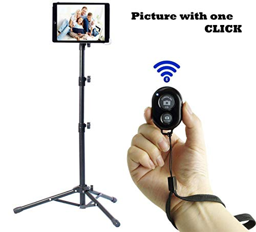 Ipad Tripod Stand, Weiyudang Height Adjustable 20 to 60 Inch Tablet...