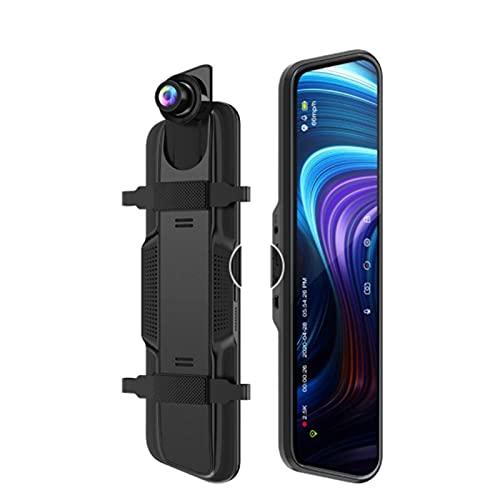 Gcsheng Dash Camera 1080P 10 Pulgadas 2.5k Car DVR Stream Media GP/S Dash Camera Visión Nocturna Visión Nocturna Monitor de vídeo Video Grabador de Video (SD Card Memory : NO Card with GPS)