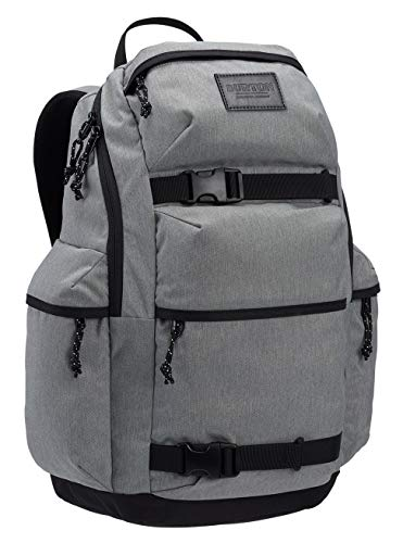 Burton Kilo, Zaini Unisex – Adulto, Gray Heather, Taglia Unica