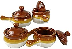 "Onion Soup Bowls with Lids. <a href=""https://www.amazon.com/gp/product/B015TS3UVS/ref=as_li_tl?ie=UTF8&amp;camp=1789&amp;creative=9325&amp;creativeASIN=B015TS3UVS&amp;linkCode=as2&amp;tag=ris15-20&amp;linkId=12a95b3eca6746a1798b256c82ca9385"" target=""_blank"" rel=""nofollow noopener""><span style=""text-decoration: underline; color: #0000ff;""><strong>Buy on Amazon today.</strong></span></a>"