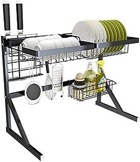 Étagère de Cuisine, étagère pour Vaisselle étagère pour Vaisselle en Acier Inoxydable étagère pour ustensiles de Cuisine é...