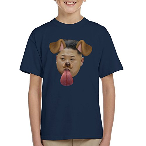 Cloud City 7 Kim Jong Un Dog Snapchat Filter Kid's T-Shirt