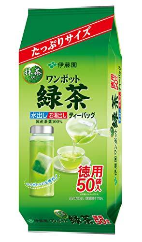 伊藤園 ワンポット抹茶入り緑茶 ティーバッグ 50袋