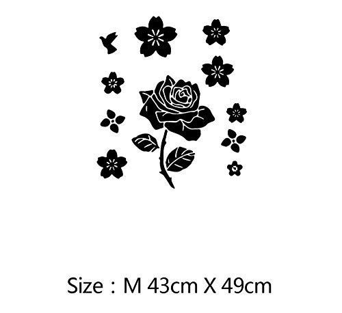Sticker van vinyl, zelfklevend, voor de tuin, voor kinderen, om zelf te maken, voor thuis, decoratie voor de koelkast, warm, keuken, waterdicht, bier, pinguïn