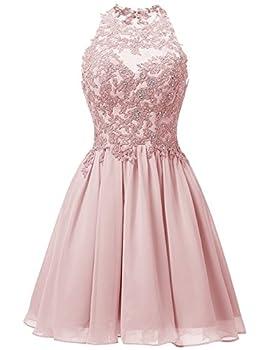 Cdress Women s Short Homecoming Dress Prom Cocktail Dress 0 Blush