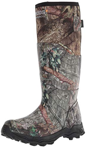 BOGS Men's Ten Point Camo Hunting Rainboot Rain Boot, Mossy Oak, 13
