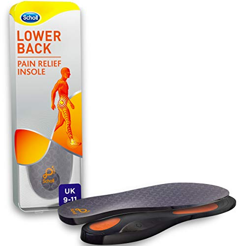 Scholl Orthotic Insole Lower Back Pain Relief, Large, UK Size 9-11