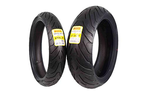 Pirelli Angel ST Front & Rear Street Sport Touring Motorcycle Tires (1x Front 120/60ZR17 1x Rear...