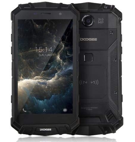 DOOGEE S60 Teléfono Inteligente 5.2' Android 7.0 6 GB de RAM + 64 GB de ROM IP68 Impermeable Cámara de 21MP Helio P25 Octacore 2,5 GHz 5580mAh Soporte de Huellas Dactilares
