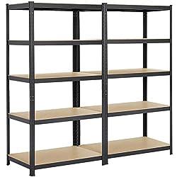 How do you Stack Garage Shelves?