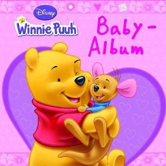 Disney: Baby-Album Winnie Puuh rosa: wattiert