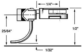 """product image for HO Body Mounted Coupler, 1/4"""" Overset (2pr)"""