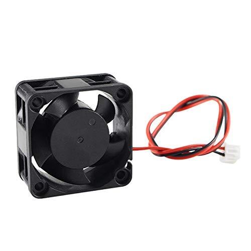 QOHFLD Accesorios de Impresora Parte 3D de la Impresora 4020 Ventilador de refrigeración 24 V Enfriador sin escobillas Ventilador de 40 mm 40 x 40 x 20 mm