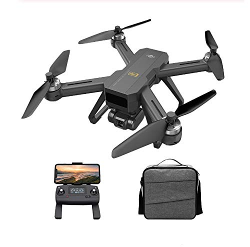 Harpi 2020 MJX Bugs 20 / B20 EIS GPS Brushless RC Drone w/ 4K 5G FPV HD Camera Quadcopter Electronic Anti-Shake Gimbal Remote Control Aircraft Helicopter 1/2 Battery Easy Selfie Beginner (2 Battery)