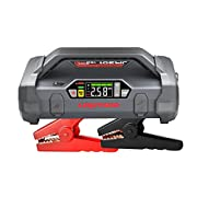 #LightningDeal Lokithor Jump Starter 2000Amp 20000mAh 12V Car Battery Booster Pack for Upto 8L Gas or 6L Diesel, 150 PSI Air Compressor with Damping Technology,Portable Power Bank with Handle Bar and Emergency Light