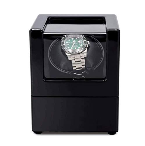 SMSOM Rayador de Relojes único para Relojes automáticos, con Motor súper silencioso, configuración de Modo de 5 rotación, Relojes de señora y Hombre.